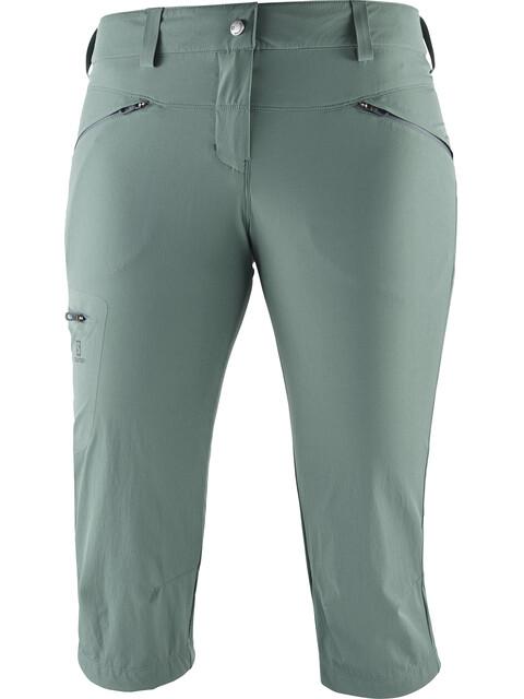 Salomon Wayfarer - Pantalones cortos Mujer - verde